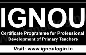 Certificate Programme for Professional Development of Primary Teachers